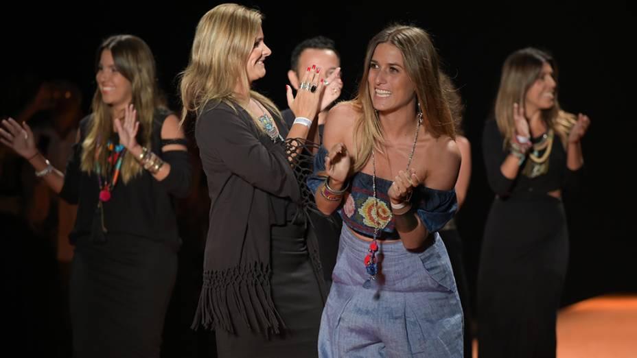 A grife Oh Boy apresenta nova coleção durante desfile do segundo dia da Fashion Rio