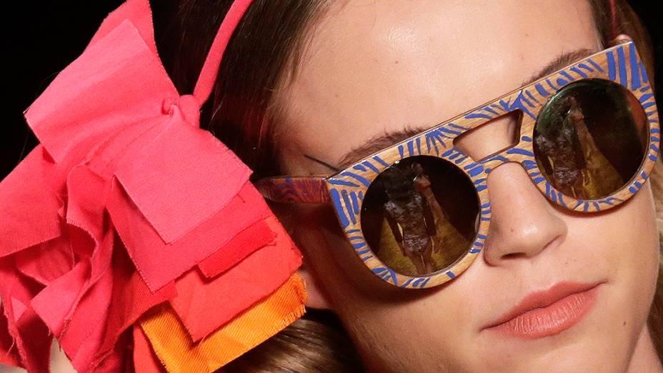 Salinas apresenta nova coleção durante desfile do terceiro dia da Fashion Rio Verão 2015