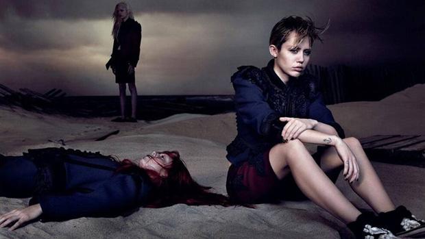 Miley Cyrus na nova campanha da grife de Marc Jacobs