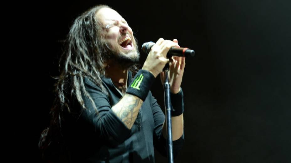 Show da banda Korn no primeiro dia do Monsters of Rock