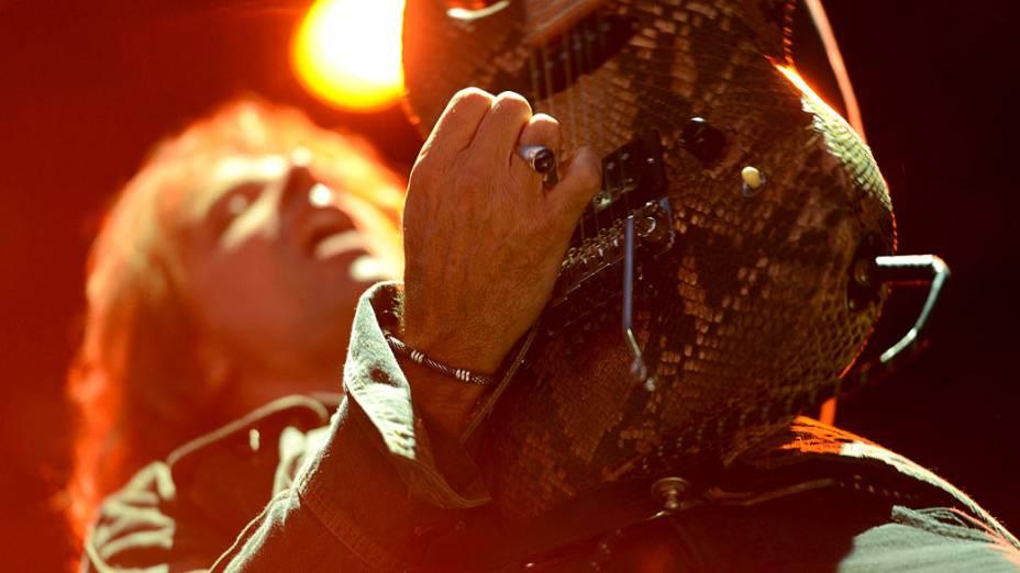 Show da banda Ratt no segundo dia do Monsters of Rock