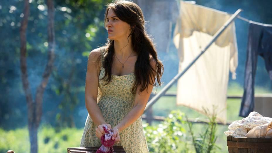 Amélia (Bianca Bin) na novela Joia Rara