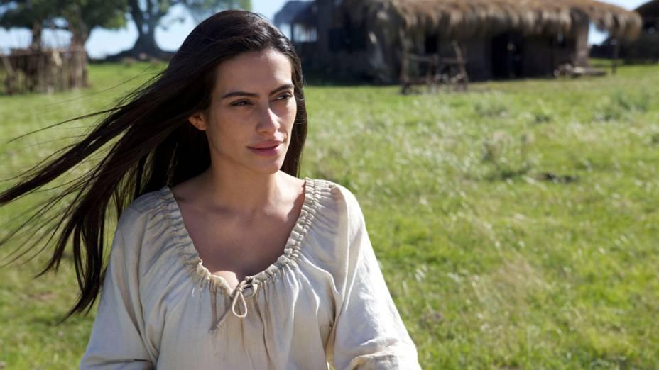A atriz Cléo Pires no filme O Tempo e o Vento
