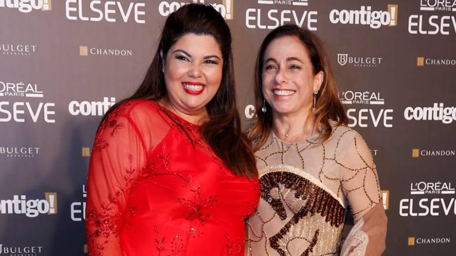 Globais chegam para a 16ª edição do Prêmio Contigo! de TV, no Hotal Copacabana Palace, no Rio de Janeiro
