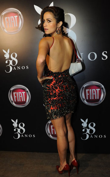 Festa de aniversário de 38 anos da PLAYBOY com Nanda Costa, em São Paulo