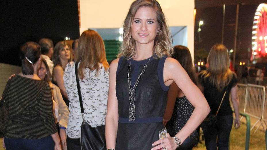 Luiza Valdetaro chega para o quinto dia de Rock in Rio 2013