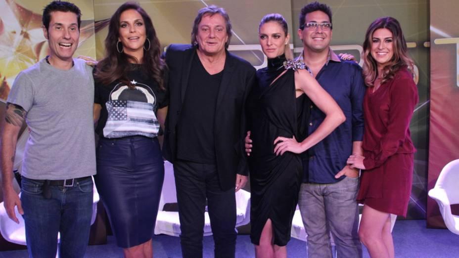 Globo realiza coletiva de imprensa com elenco do novo reality musical SuperStar no Projac