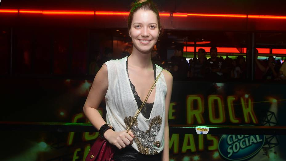 Nathalia Dill no Camarote da Heineken, no Rock in Rio 2013