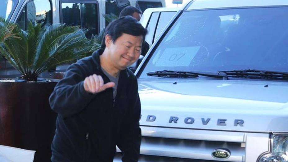 O ator americano Ken Jeong, que faz o vilão Chow da franquia Se Beber, Não Case