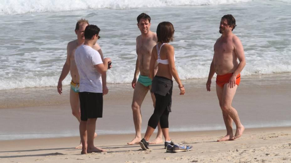 Elenco de Se beber não case na praia da zona sul do Rio