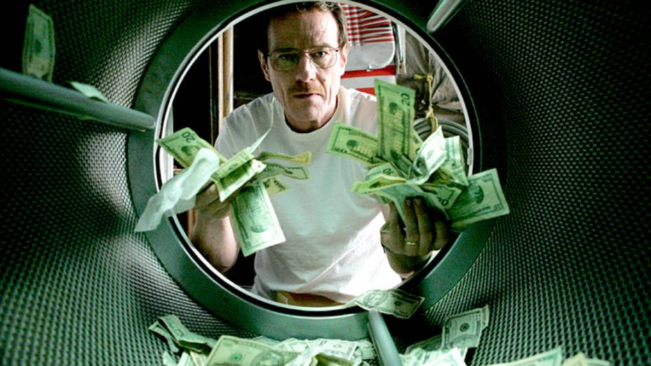 Walter White (Bryan Cranston) na primeira temporada de Breaking Bad
