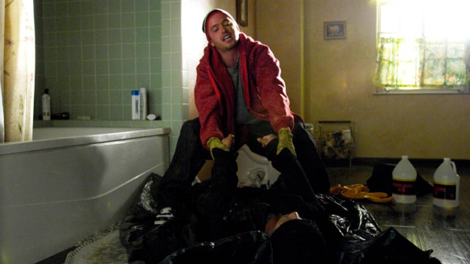 Jesse Pinkman (Aaron Paul) na primeira temporada de Breaking Bad