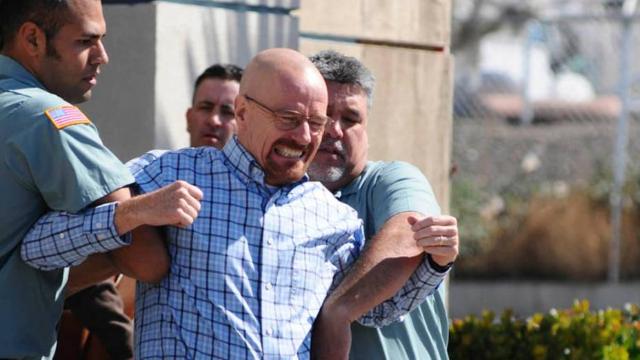 Walter White (Bryan Cranston) na terceira temporada de Breaking Bad