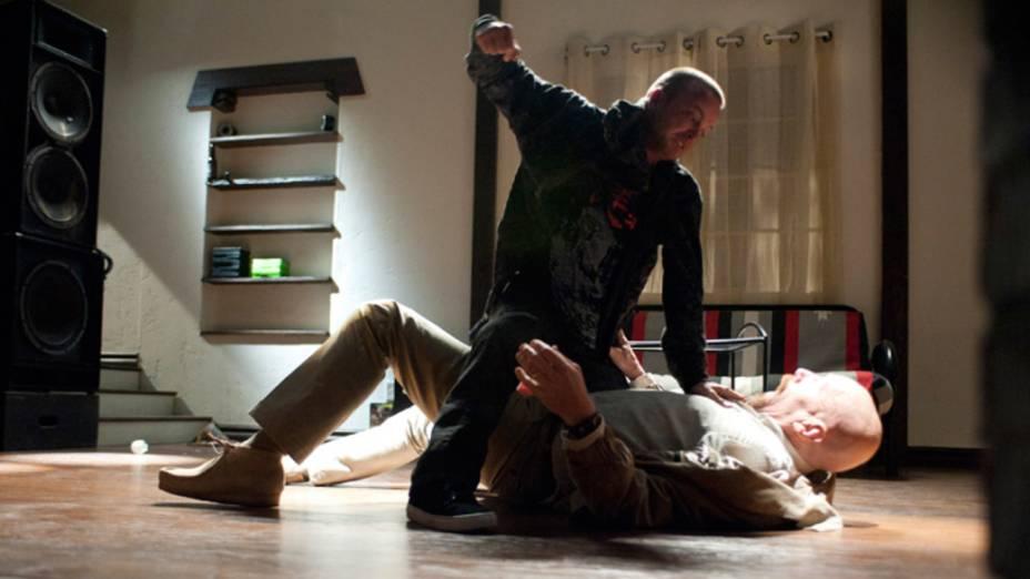 Jesse Pinkman (Aaron Paul) e Walter White (Bryan Cranston), na quarta temporada de Breaking Bad
