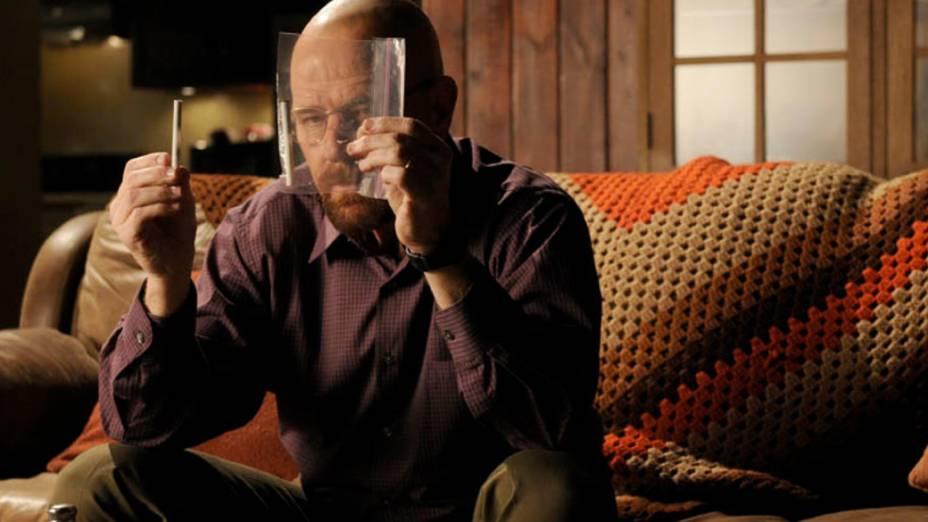 Walter White (Bryan Cranston) na quinta temporada de Breaking Bad