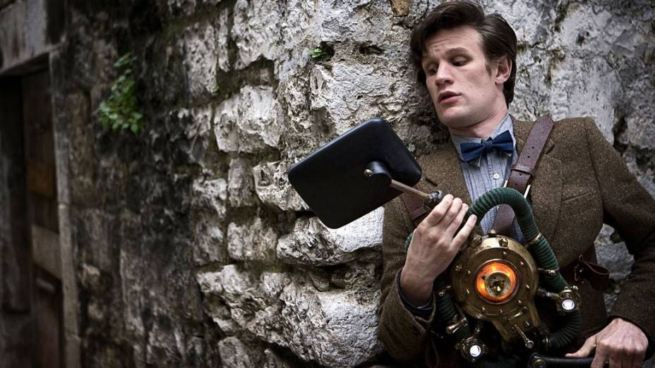 O décimo primeiro Doutor (Matt Smith) da série Doctor Who