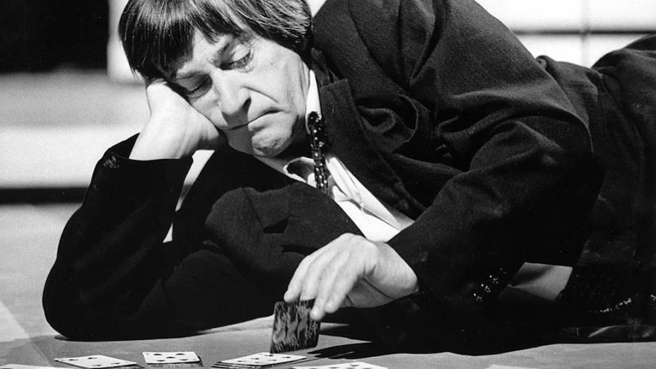 Patrick Troughton como o segundo Doctor, nos anos 1960