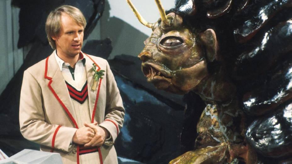Peter Davison, que assumiu a série entre 1981 e 1984