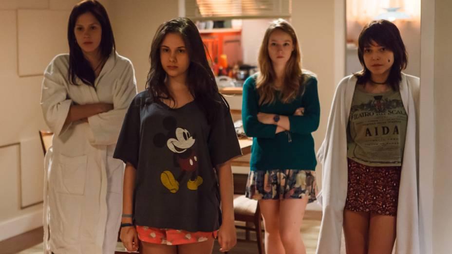 As quatro irmãs no filme Confissões de Adolescente