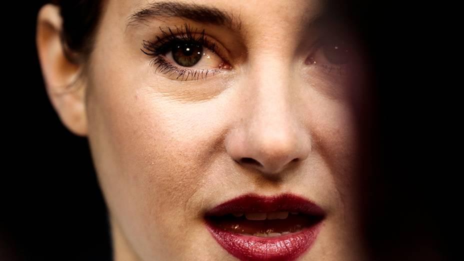 Shailene Woodley na estreia do filme Divergente em Berlim