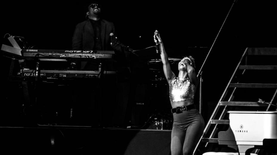 Alicia Keys se apresentou no Espaço das Américas, em São Paulo