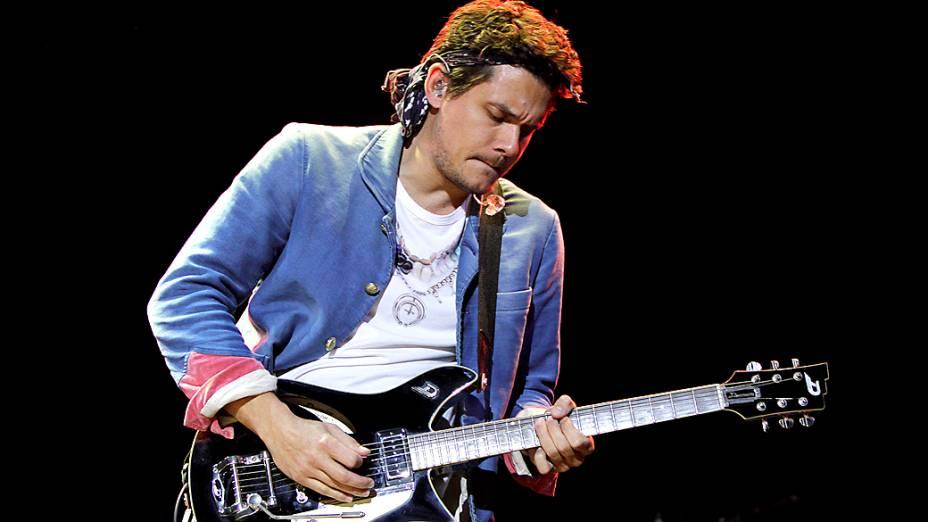 Show de John Mayer no Anhembi, em São Paulo