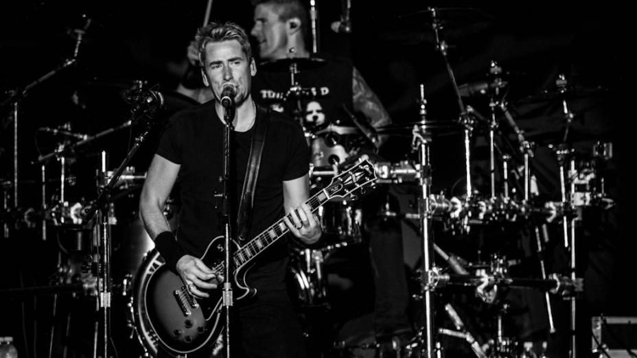 Nickelback se apresenta no Morumbi, em São Paulo<br><br><br>