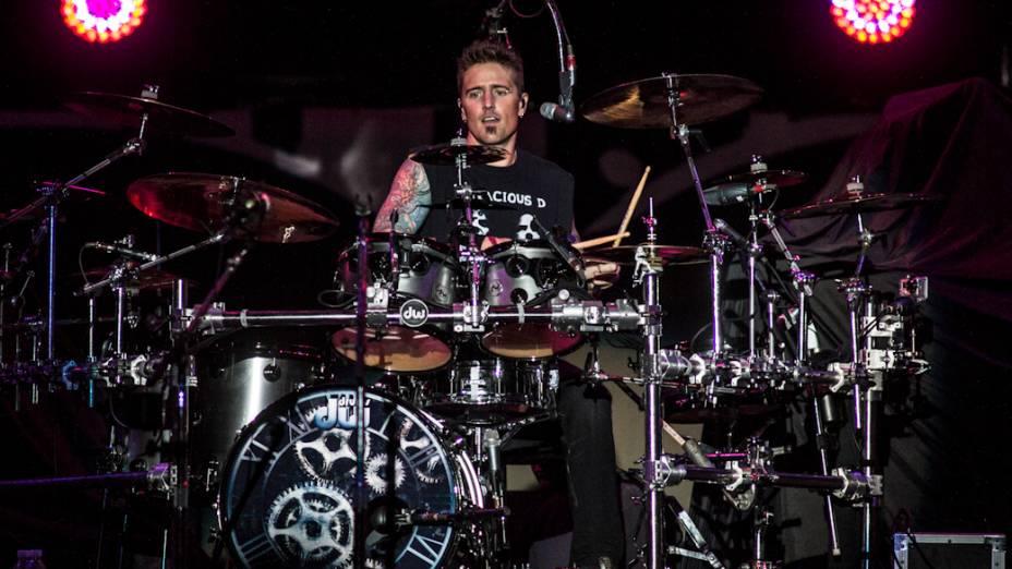 Daniel Adair, baterista do Nickelback<br>