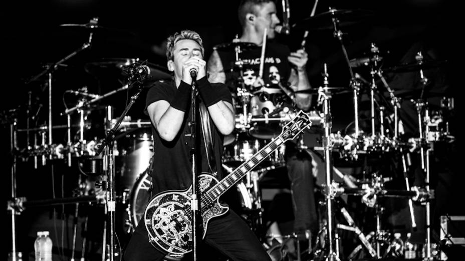 Nickelback se apresenta no Morumbi, em São Paulo<br><br>