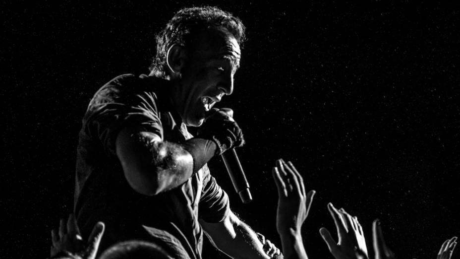 Bruce Springsteen no Espaço das Américas, em São Paulo