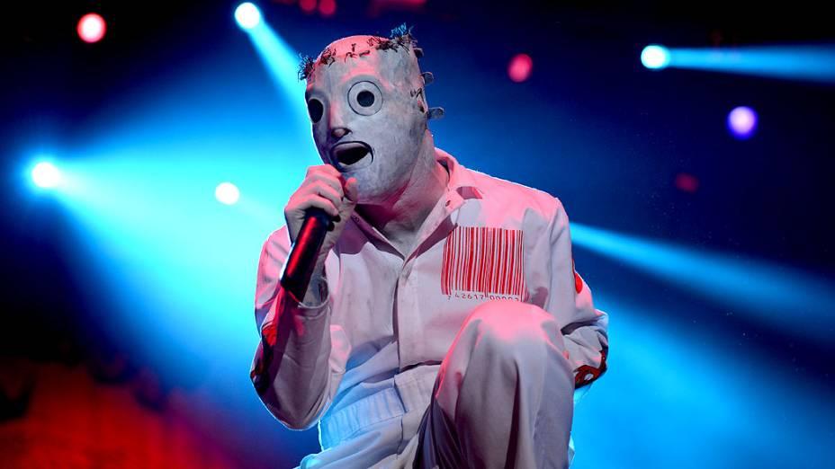 Show da banda Slipknot no primeiro dia do Monsters of Rock