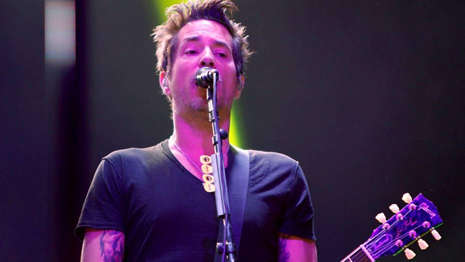 Show da banda Offspring no Credicard Hall, em São Paulo