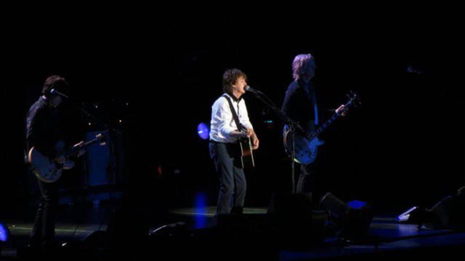 Apresentação de Paul McCartney em Goiânia no Serra Dourada