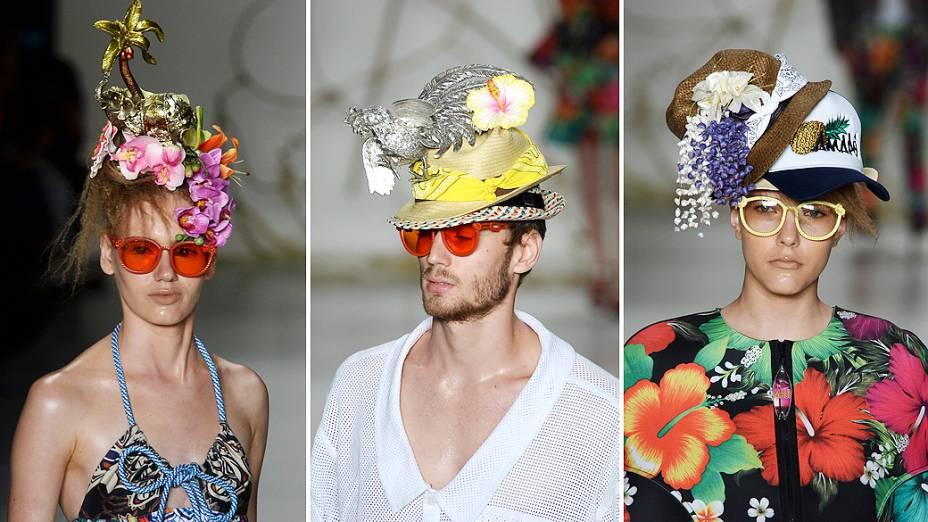 Amapô apresenta coleção durante o quinto e último dia da São Paulo Fashion Week