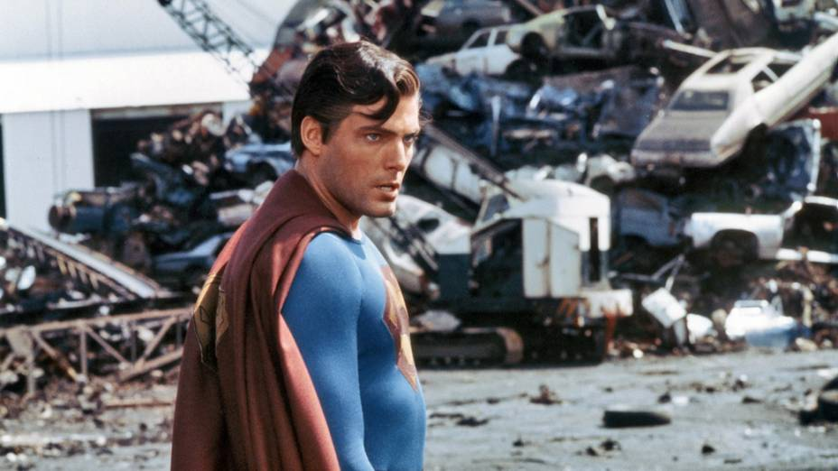 Superman III (1983), ainda com Christopher Reeve