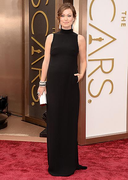 Olivia WIl na chegada para a cerimônia do Oscar 2014