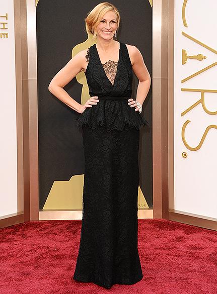 Julia Roberts na chegada para a cerimônia do Oscar 2014