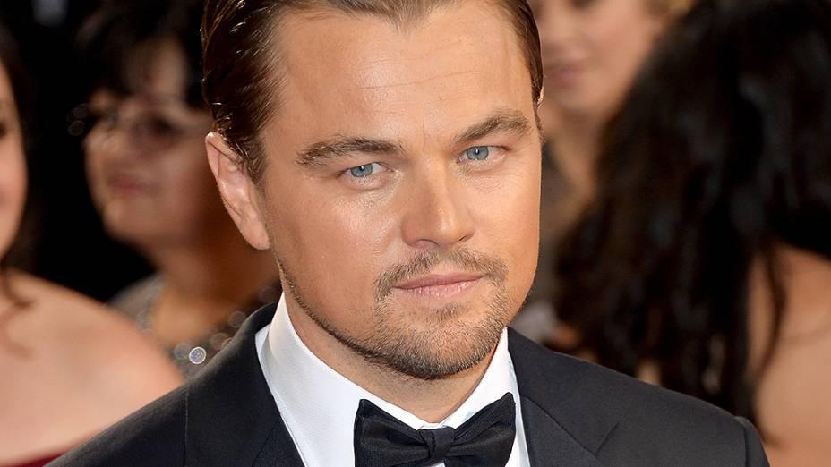 Leonardo DiCaprio no tapete vermelho do Oscar 2014