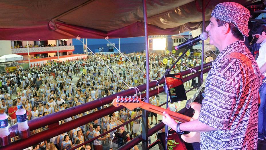 Asa de Águia no Carnaval de Salvador, em 27/02/2014