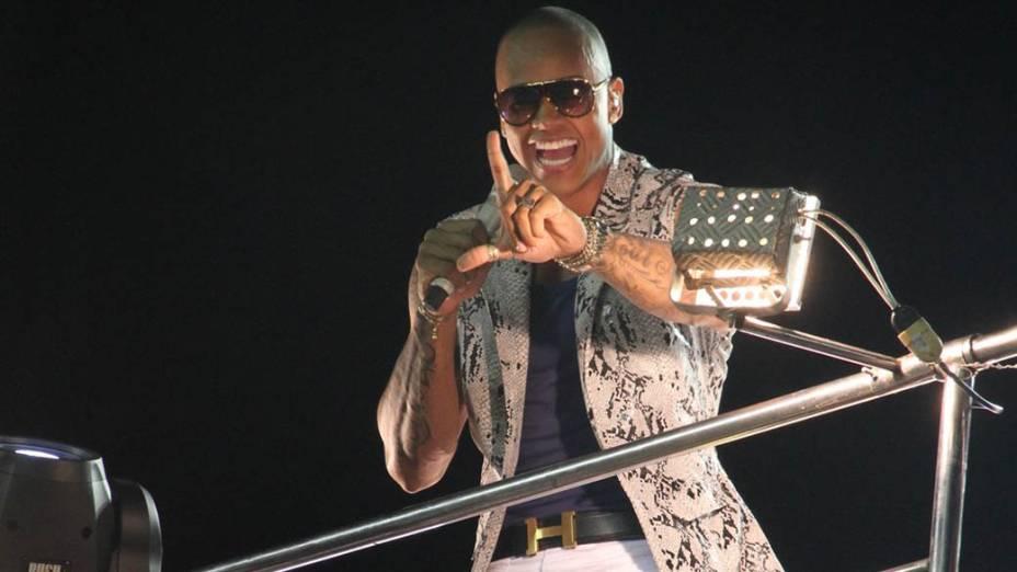 Leo Santana no Carnaval de Salvador, em 27/02/2014