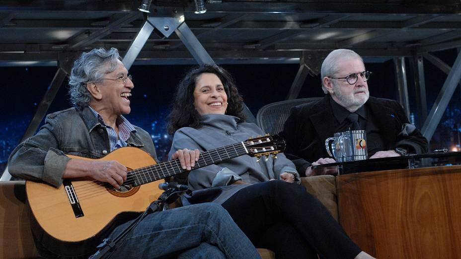 Jô Soares entrevista Caetano Veloso e Gal Costa