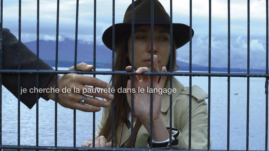 Cena do filme Adieu au Langage, de Jean-Luc Godard, vencedor do Prêmio do Jurí