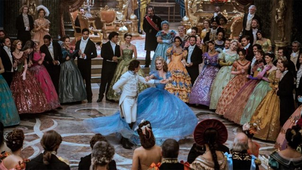 Cena do filme Cinderela