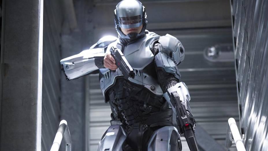 Cena do filme Robocop: A Origem