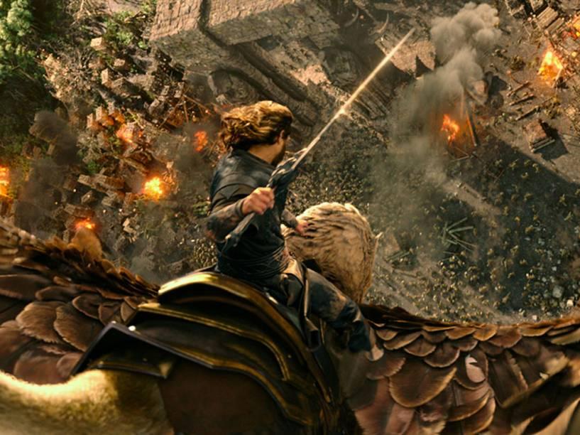 Cena do filme Warcraft - O Primeiro Encontro de Dois Mundos