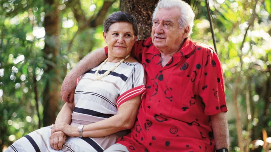 Zelia Gatai e Jorge Amado em 1989