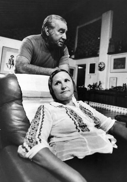 Jorge Amado e Zelia Gatai em 1975