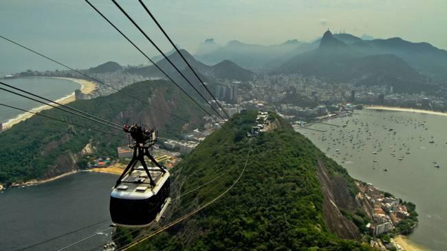 Centenário do Bondinho do Pão de Açúcar, no Rio de Janeiro