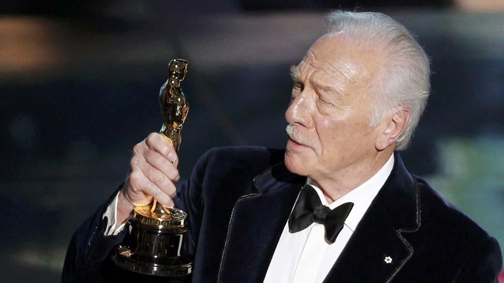 Christopher Plummer, vencedor como ator coadjuvante do Oscar 2012