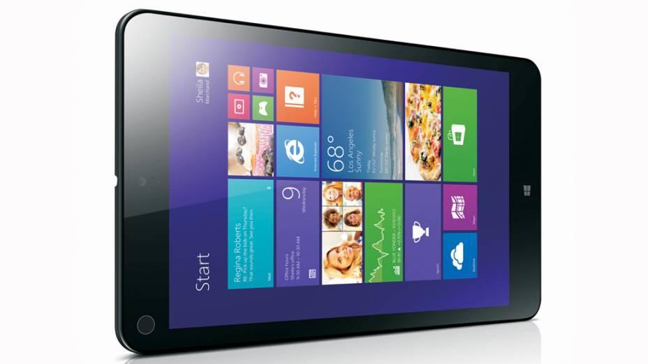 Com o ThinkPad 8, Lenovo aposta em tablets com telas menores e Windows 8